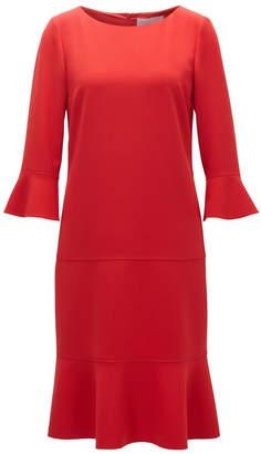 HUGO BOSS Henryke7 Red Dress