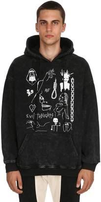 Evil Heavy Vintage Sweatshirt Hoodie