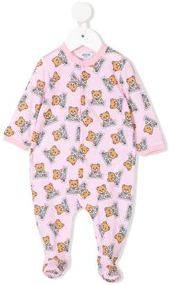 Moschino Kids teddy bear print pajama set