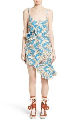 Women's Marques'Almeida Ruffled Lace Slipdress $725 thestylecure.com