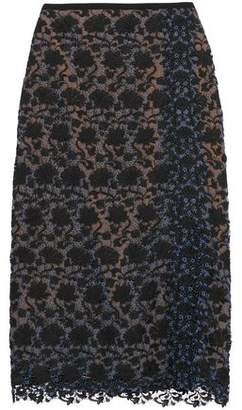 Erdem Sarah Guipure Lace Midi Skirt