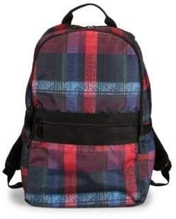 Le Sport Sac Montana Plaid Backpack