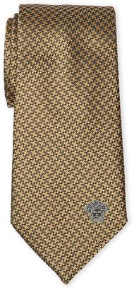 Versace Yellow Silk Tie