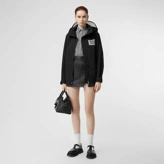 Burberry Detachable Hood Shape-memory Taffeta Jacket