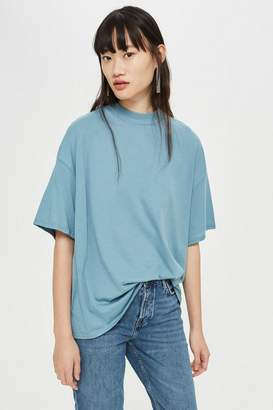 Topshop High Neck T-Shirt