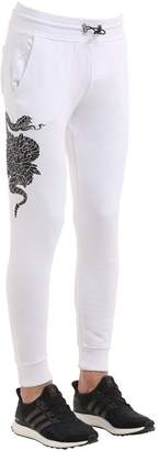 Hydrogen Printed Cotton Sweatpants