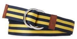 Polo Ralph Lauren Grosgrain Stripe O-Ring Belt