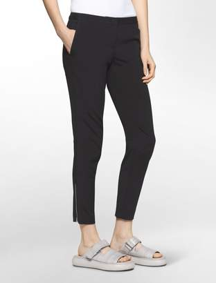 Calvin Klein platinum piper stretch extreme skinny cropped pants