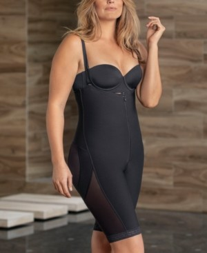 Leonisa Strapless Waist-to-Knee Sculpting Body Shaper