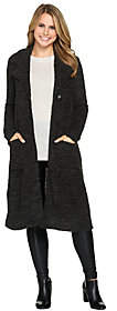 Lisa Rinna Collection Duster w/ OversizedLapels
