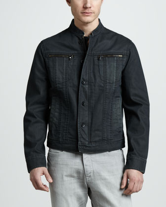 John Varvatos Star USA Four-Pocket Denim Jacket
