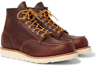 Red Wing Shoes 8138 Moc Leather Boots - Dark brown