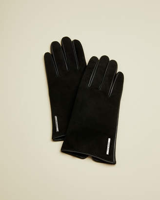 Ted Baker SOFIE Suede and leather glove