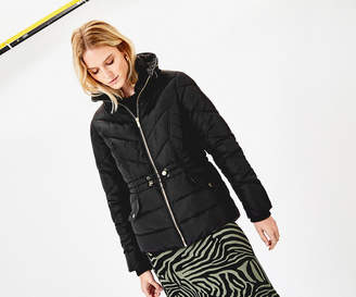 Oasis LUXE SHORT PADDED JACKET