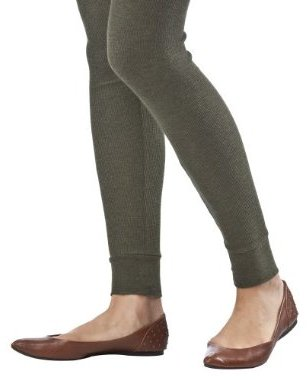 Mossimo Supply Co. Juniors Thermal Legging - Olive