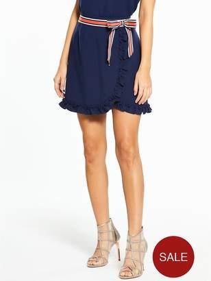 Ted Baker Xzenia Bow Mini Skirt - Navy