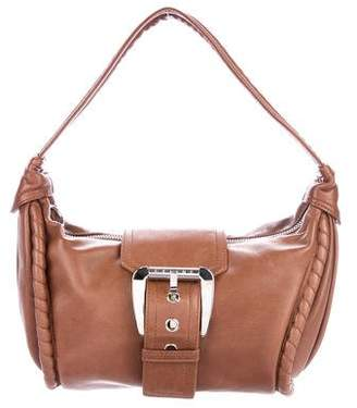 Celine Leather Buckle Hobo