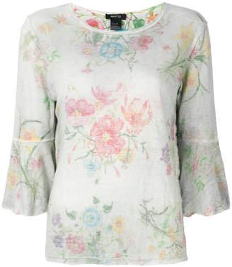 Avant Toi floral print top