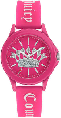 Juicy Couture Woman Juicy Couture, 1001HPHP Silicon Strap Watch