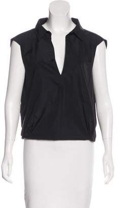 Dries Van Noten Sleeveless V-Neck Top