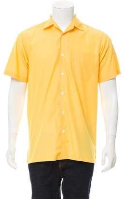 Ralph Lauren Purple Label Button-Up Polo Shirt