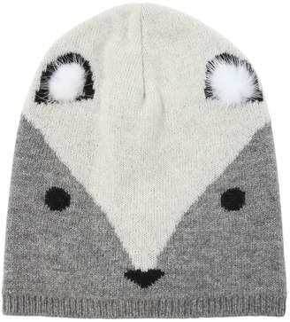 Blend of America Fox Wool Knit Hat