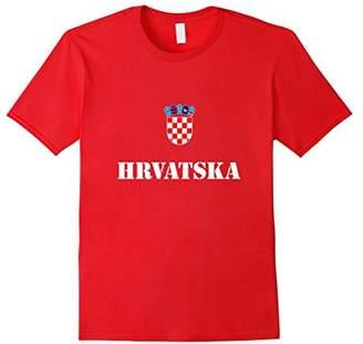 Croatia Hrvatska Soccer T-Shirt Croatian Football Tee Shirt