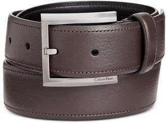Calvin Klein Men's Feather-Edge Dress Belt