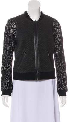 Rebecca Taylor Lace Bomber Jacket w/ Tags