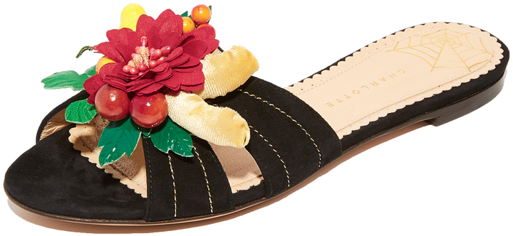 Charlotte Olympia Charlotte Olympia Tropical Slides
