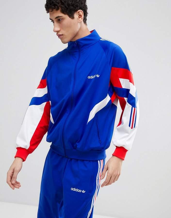 – Blaue Vintage-Trainingsjacke CE4828
