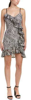 Parker Ruffle Lace Mini Dress