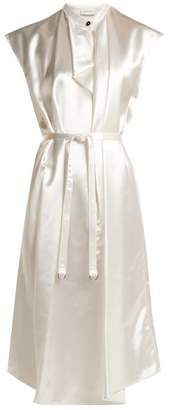 Lemaire Round-neck satin dress