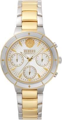 Versace Harbour Heights Chronograph Bracelet Watch, 38mm