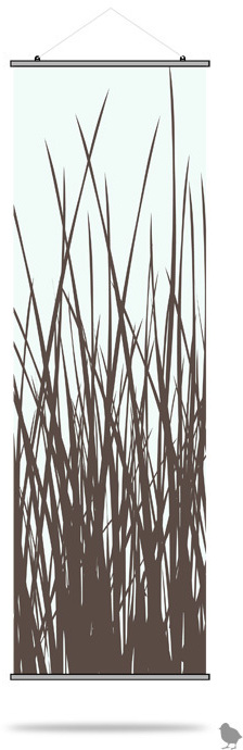 Inhabit Slats Single Hanging Panels