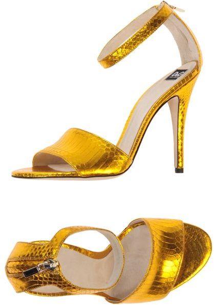 D&G High-heeled sandals