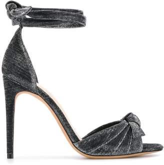 Alexandre Birman bow detail glitter sandals