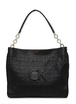 Calvin Klein Hera Lamb Leather Hobo