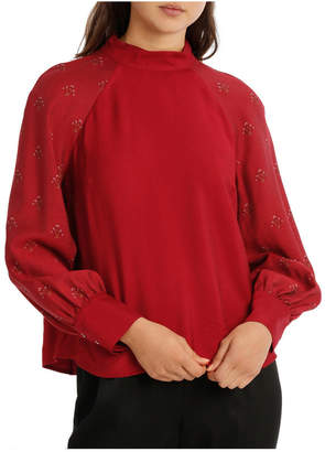 Miss Shop Isabel Stand Neck Top