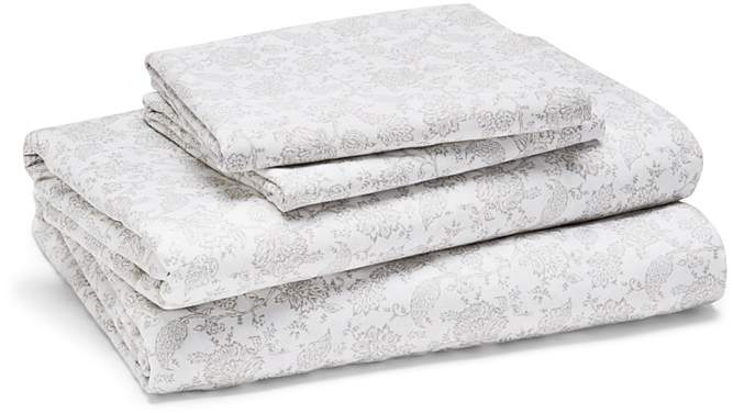 Bloomingdale's Essentials Larkspur Sheet Set, Twin – 100% Exclusive