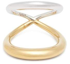 Charlotte Chesnais Surma 18kt Gold Plated & Sterling Silver Ring - Womens - Gold
