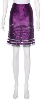 Tom Ford Tiered Knee-Length Skirt