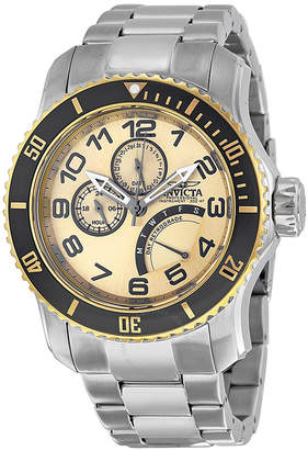 Invicta Pro Diver Multi-Function Champagne Dial Men's Watch