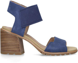 f032132896 Blue Block Heel Sandal - ShopStyle UK