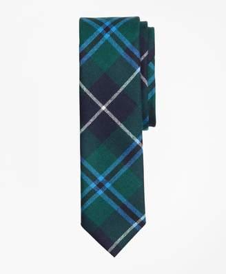 Brooks Brothers Plaid Wool Tie