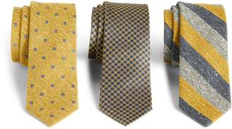 The Tie Bar 3-Pack Yellow Silk Tie