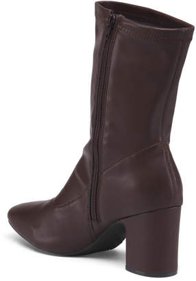 Aerosoles Wide Mid Shaft Heeled Boots