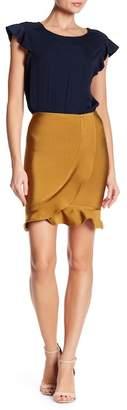 Wow Couture Ruffle Trim Wrap Skirt