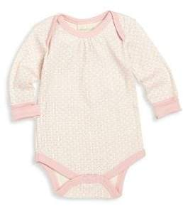 Baby Girl's Printed Organic Cotton Coverall