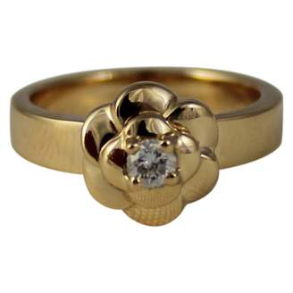 Chanel Camelia Yellow Yellow gold Ring